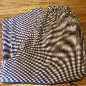 Other - Size 2 brown gingham pants